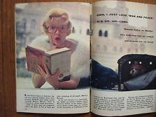 Feb 18-1961 TV Guide(MARILYN MONROE/MAUREEN ARTHUR/GEORGE MAHARIS/JACKIE GLEASON