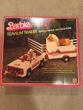 1982 Barbie Travelin'Trailer No. 5489 Mattel NOS Unopened Vintage Travelin