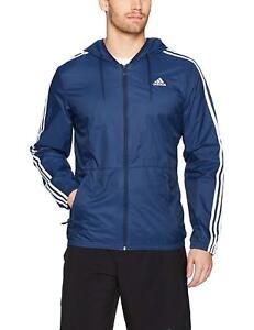 Fanático pelo Ceder  Abrigos y chaquetas de hombre azules adidas   Compra online en eBay