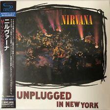 MTV Unplugged in New York by Nirvana  (SHM-C. jp LP), 2011, UICY-75128 Japan