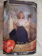 """I Love Lucy Barbie Doll """"Lucy's Italian Movie"""" 99 Mint Nrfb Lucy Stomping Grapes"""