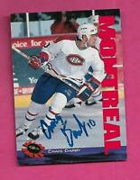 RARE CANADIENS CRAIG DARBY  AUTOGRAPH CARD (INV# C5999)