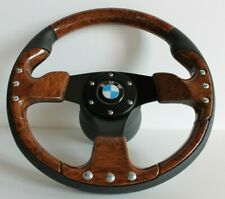 Steering Wheel BMW Wood Look E24 E28 E30 E32 E34 Sport Small 1985-1991
