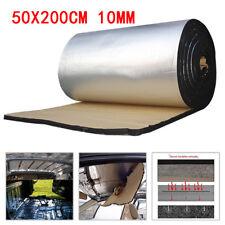 Heat Insulation Sound Deadener Car Door Engine Hood Trunk Firewall 200cm X 50cm