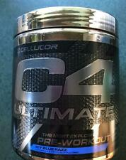 Cellucor C4 Ultimate Pre-Workout Icy Blue Razz 20 servings Exp 10/2020