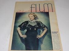 Film 47/1934 polish magazine Alice Faye, Buster Crabbe, Gloria Shea, John Loder
