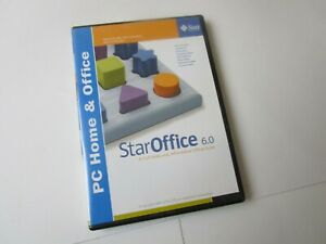Sun StarOffice 6.0 (PC Home & Office), Great Condition Star Office 6  + INSTR