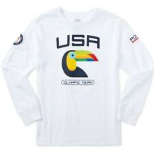 POLO Ralph Lauren 2016 US Olympic Team Long Sleeve Graphic Tee Boys 5