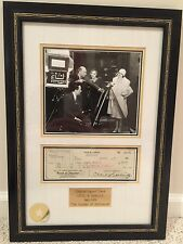 Cecil B. DeMille Founder of Hollywood 1881-1959 Framed Signature Autograph