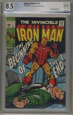 Iron Man #17 ~ Sept 1969 ~ 8.5 VF+ ~ PGX Certified 501257960