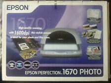 Epson Perfection 1670 PHOTO Scanner - Transparency Unit for Slides and Negatives