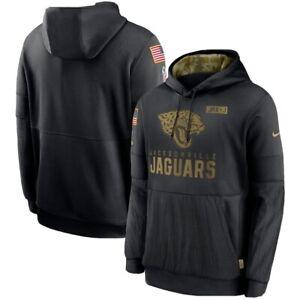 Authentic Nike NFL Jacksonville Jaguars Salute to Service Hoodie Mens Medium NWT