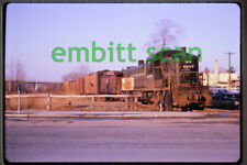 Original Slide, NYC New York Central ALCO RS3 #8293 Freight Train Action, 1964