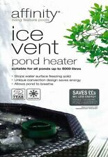 More details for blagdon affinity ice vent floating frozen pond heater winter koi gold fish 50w