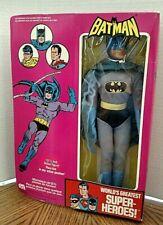 "Batman 12"" Mego Figure/Loose With Box/Vintage 1976/French + English"
