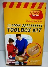 Red Toolbox *Classic Wooden Child'S Toolbox Kit* Level 1 *Sale*