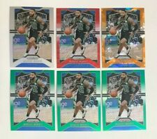 2019-20 Prizm NBA Marcus Morris Silver Green Orange Ice Ruby Wave 6 Card Lot #46