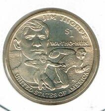 2018-D $1  Brilliant Uncirculated  Commemorative  WA-THO-HUK Jim Thorpe