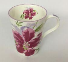 Laura Ashley Lily Floral Coffee Tea Mug Cup 9 Oz Bine China