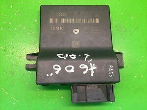 AUDI A6 4F 2006 GATEWAY CONTROL MODULE 4F0907468D