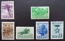Sowjetunion Mi 793-800 ** , Sc 824-831 MNH , Jahrestag Rote Armee, Unvollständig