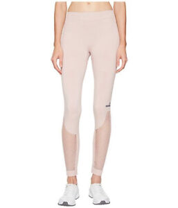 ADIDAS by STELLA MCCARTNEY The Seamless Mesh Tights Color Pink Size Medium