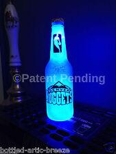 Nba Denver Nuggets Basketball 12 oz Beer Bottle Light Led Neon Bar Pub Man Cave