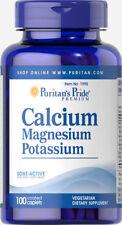 Puritan's Pride Calcium Magnesium Potassium - 100 Caplets