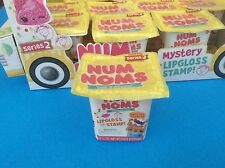 New NUM NOMS SERIES 2- One  Mystery Pack 1 Pack Num + 1 Lipgloss OR Stamp