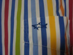 magnifique chemise Paul and Shark taille 42 tbe