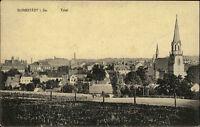 BURGSTÄDT Sachsen AK um 1920 Totalansicht ungelaufene Postkarte Fernansicht
