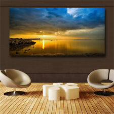 Blue Seascapes Poster Wall Pictures for Living Room Decoration Canvas Painting
