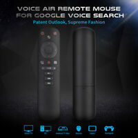 G50S Wireless Fly Air Mouse Gyroscope 2.4G Smart Voice Remote Control for X96