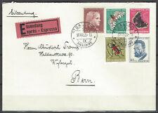 Schweiz gest MiNr 588/2, Pro Juventute 1953, sehr schöner Brief , tadellos