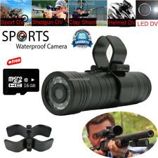 HD 16 Go 1080P Gun Video Chasse DV Caméra d'action FR Clay Pigeon Tir Fusil