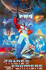 Transformers Animated TV Series POSTER 1984 Rare Large