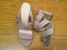 KATE SPADE NEW YORK SUEDE OPEN TOE HEEL SHOES NEW SIZE 9