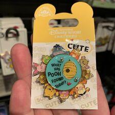 SHDR Disney Pin 2019 winnie the pooh rotate Shanghai Disneyland park exclusive