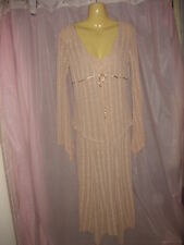 David House As-New Gatsby/Miss Fisher Beautiful Stretchy Dress & Jacket Size 6-8