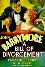A Bill of Divorcement 1932 16mm feature film Katharine Hepburn