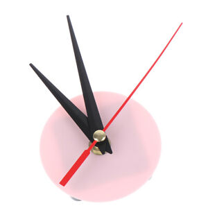 DIY acrylic wall clock cross stitch movement dial accessories watch core OH