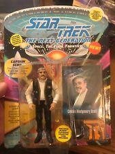 "Star Trek TNG Capt. Montgomery Scott 3.75"" Figure 6029 Playmates 1993 MOC"