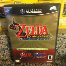 Legend of Zelda Wind Waker Nintendo GameCube GC Ocarina of Time Master Quest