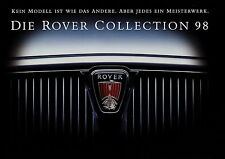 Prospekt Rover 1998 auto folleto 200 400 600 brochure 214si 220sdi 420si 618si