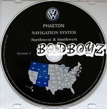 2004 2005 06 VW PHAETON NAVIGATION NAV DISC CD NW SW MT CO UT OR WA ID WY AZ NM