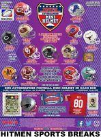 GREEN BAY PACKERS 2020 Tristar H/T Football Mini Helmets 10 BOX CASE BREAK #1
