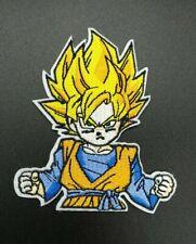 parche goku super guerrero dragon ball Z saiyan planchar iron kakarot manga tv