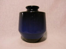 Steuler 133/15 Vase Keramik blau blue german pottery design C. Zalloni 60s 70s