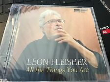 """Leon Fleisher """"All The Things You Are"""" cd SEALED"""