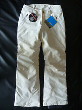 Columbia Womens White Heat Reflective Solid Lined Snow Pants, size S